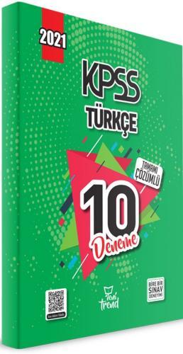 Yeni Trend 2021 KPSS Türkçe Tamamı Çözümlü 10 Deneme Komisyon